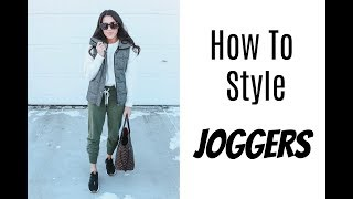 How To Style Joggers! 5 Casual Looks With Joggers For Everyday