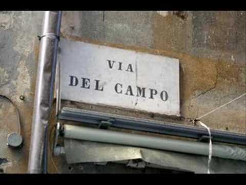 Immagine testo significato Via del Campo
