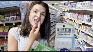 BRACES ROUTINE! What To BUY
