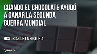 Cómo el chocolate ayudó a ganar la guerra a los Aliados