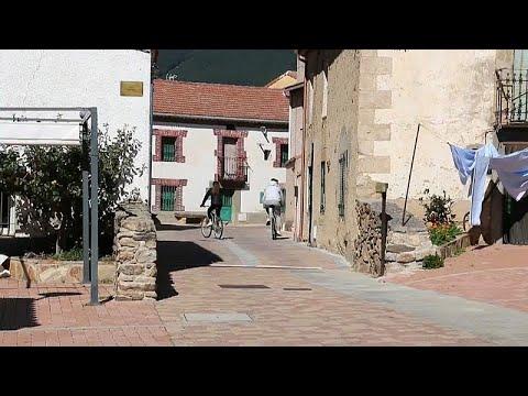 Ισπανία; Χωριά χωρίς μολύνσεις