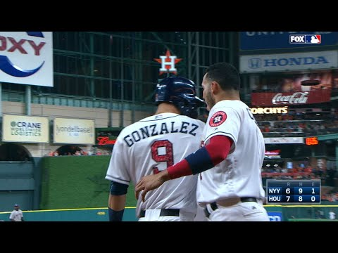 7/1/17: Four-run 8th leads Astros past the Yankees