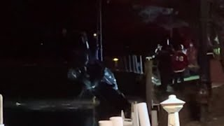Driver rescued after vehicle submerged in Detroit River near Grosse Ile Yacht Club