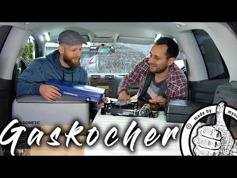 Gaskocher Campingkocher Kochen im Auto - Teil 5 Auto in Mini Camper umbauen, Leben im Auto