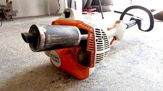 Homemade Exhaust MUFFLER For Trimmer ?