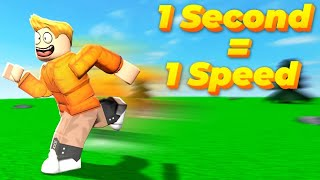 Roblox but Every Second Speed Rises