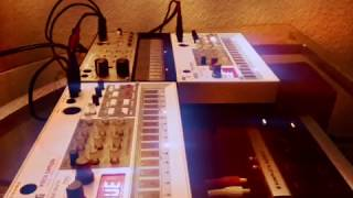 In my room (Live Yazoo/Yaz cover using Korg Volca Devices)