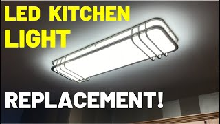 LED Ceiling Light Replacement -- FULL INSTALL!