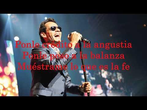 Marc Anthony - Hasta Que Vuelvas Conmigo (Letra)