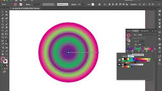 Adobe Illustrator gradient mesh tool