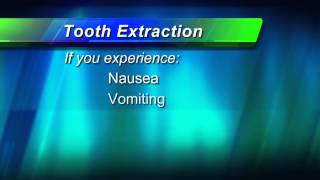 Tooth Extraction: Post-Operative Instructions