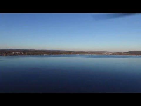 DJI Phantom III Nice Flight over Lake Co
