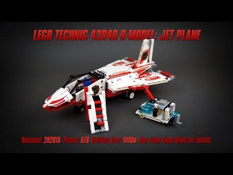 Vidéo LEGO Technic 42040 : L'avion des pompiers