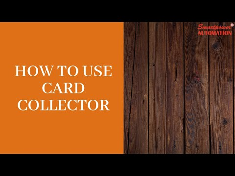 Card Collector Machine