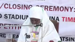 2018 Nigerian Musabaqah: Yobe State 60 Hizb & Tafseer. Frmale Participant