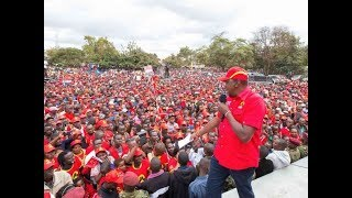 President Uhuru Kenyatta warns chiefs against campaigning for the opposition NASA