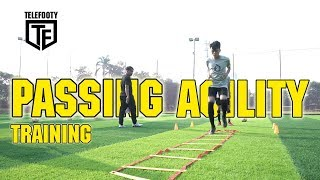CARA MELATIH PASSING, KECEPATAN DAN KELINCAHAN KAKI DI SEPAKBOLA/FUTSAL#LatihanBareng Donzol Video thumbnail
