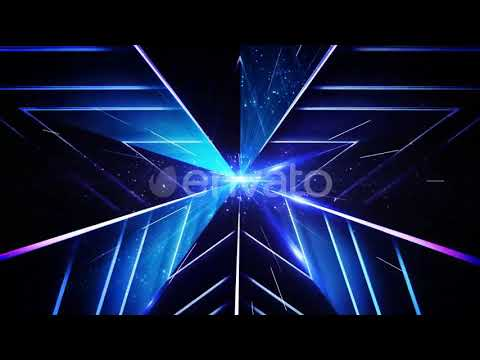 Abstract Stars Background 4k Loop