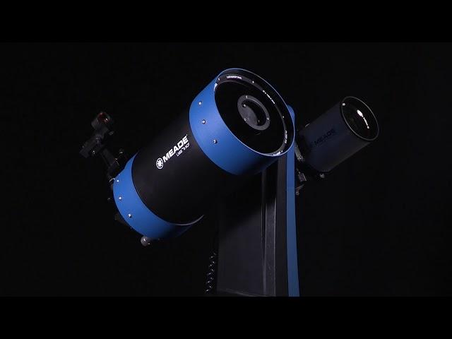 "Meade 8"" LX65 ACF Telescope with Alt-Az Single-Arm GoTo Mount - 228004"
