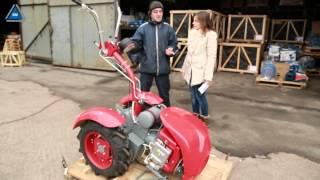 Мотоблок Мотор Сич МБ-8Э бензин от компании ПКФ «Электромотор» - видео 1