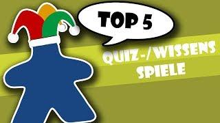 Top 5 Wissensspiele / Quizspiele