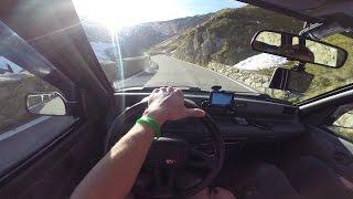 GoPro POV: Drive Daewoo Tico - Stelvio Pass