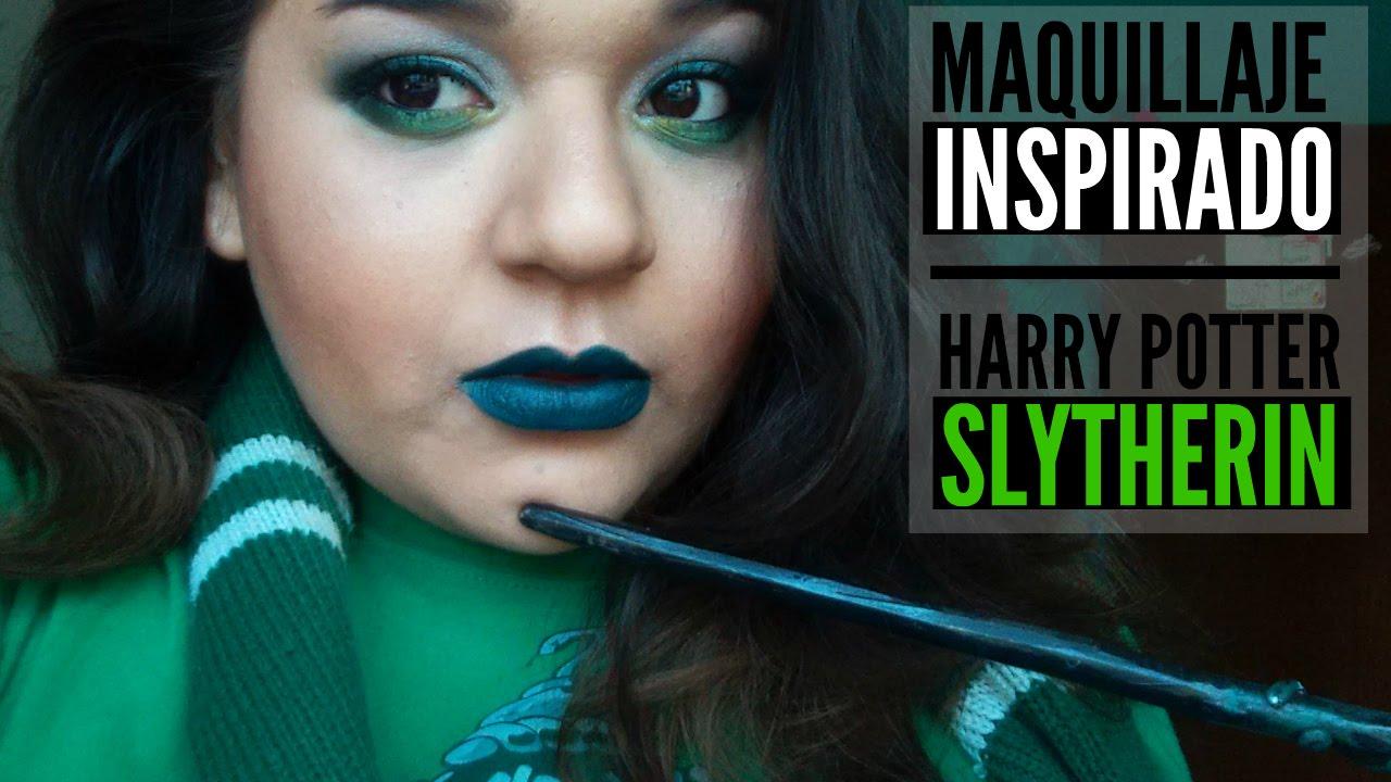Demelza Makeup- Maquillaje Inspirado Slytherin