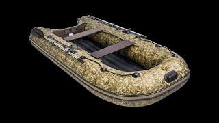 """Лодка ПВХ Ривьера 3200 НДНД Компакт """"Камуфляж"""" камыш от компании Интернет-магазин «Vlodke» - видео"""
