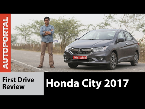 Honda City 2017 First Test Drive Review - Autoportal