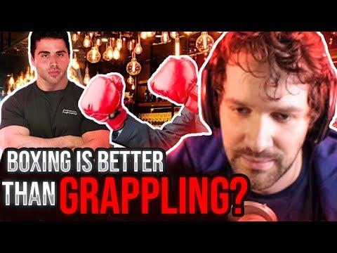 Boxing vs Grappling - Destiny Debates ft. JonZherka & Devin Nash