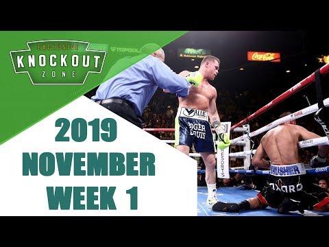Boxing Knockouts | November 2019 Week 1