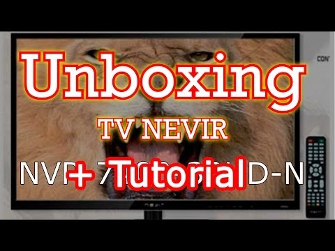 Unboxing TV NEVIR LED 32