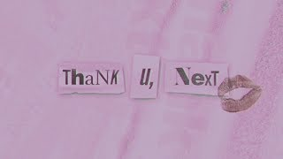 Ariana Grande thank u next lyric video Video