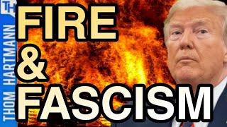 Will Trump's Secret Police Provoke Modern Reichstag Fire?
