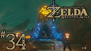 Zelda Breath Of The Wild Playthrough Part 34: Shae Mo'sah Shrine, Swinging Flames (All Chests)