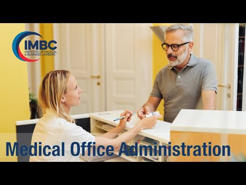 IMBC Program Overview: Medical Office Administration Diploma ...
