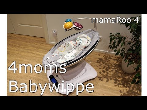 Review: 4moms mamaRoo 4 Babywippe - eine elektronische Stylo-Wippe