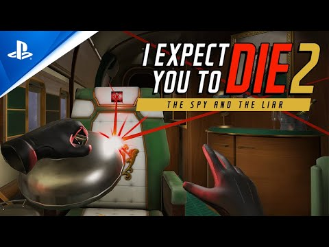 I Expect You To Die 2: The Spy And The Liar returns to PS VR