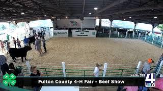 Fulton County 4-H Fair - Beef Show - 7-9-19