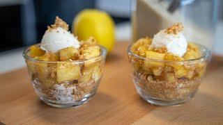Recette rapide et pas chère du dessert aux pommes en 5 ingrédients