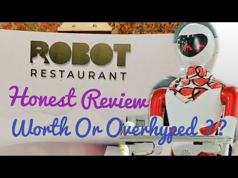 Robot Restaurant Bangalore | Honest Review | Worth or Overhyped ??