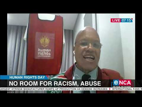Human Rights Day No room for racism, abuse