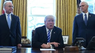 Trump plays the health care bill  blame game