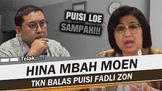 Download Video MONOHOK!!! BALAS PUISI FADLI ZON, TKN JOKOWI-MA'RUF AMIN BUAT PUISI 'AKU' MP3 3GP MP4