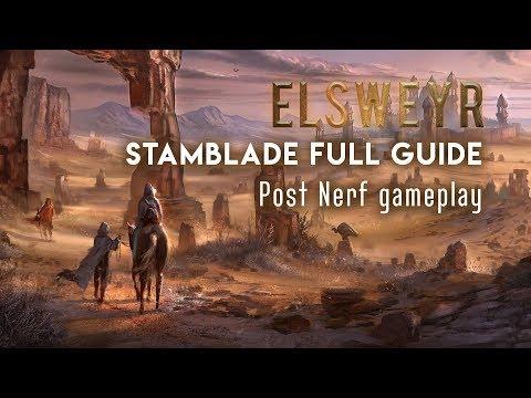 Stamblade PvP Guide for Elsweyr Patch — Elder Scrolls Online