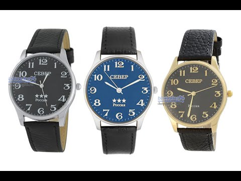 Видео обзор наручных часов Север А2035-005
