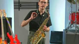 Saxophone Lessons For Beginners – Pete Thomas 2014