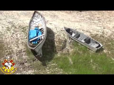 Represa de Juquitiba secando cada dia mais