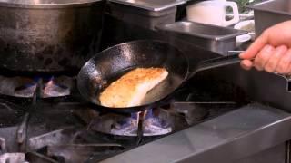 Parmesan Crusted Halibut Fillet