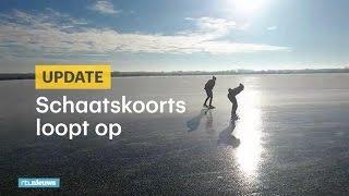 Zo heerlijk: beelden vanaf het ijs - RTL NIEUWS